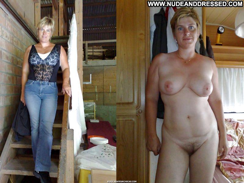 Amateur mature women dressed undressed