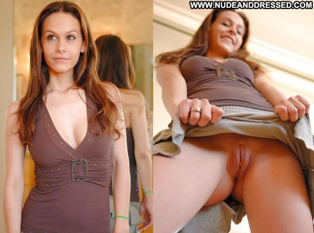 Several Amateurs Dressed And Undressed Exhibicionist Teasing